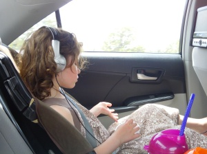 "Singing along to her ""tunes"" to the great delight of the rest of us."
